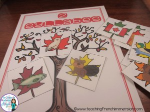 Canada themed syllable sort.