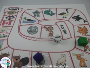 Canada themed Board Game