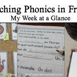 Teaching Phonics in French
