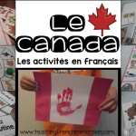 Canada Themed Activities in French!