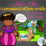 Fun barrier game in French!  Great for Oral Communication skills.