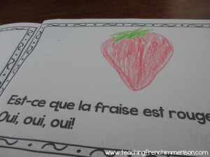Fun book for teaching colours in French! Wonderful emergent reader!