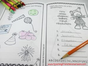 Nouvelle année. Your students will love the fun activities in this New Year Activity booklet - in French!