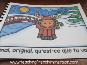 Hiver! Wonderful French emmergent reader to practice winter themed vocabulary.