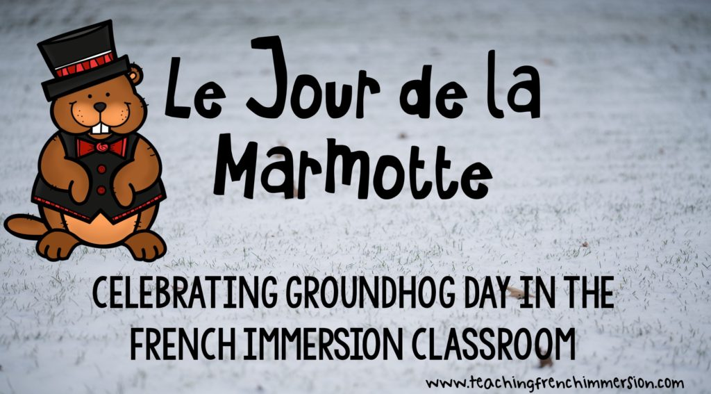 Excellent blog post with ideas for Groundhog Day in French! Jour de la marmotte!