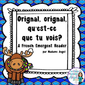 Fun emergent reader in French to practice winter vocabulary! C'est l'hiver!