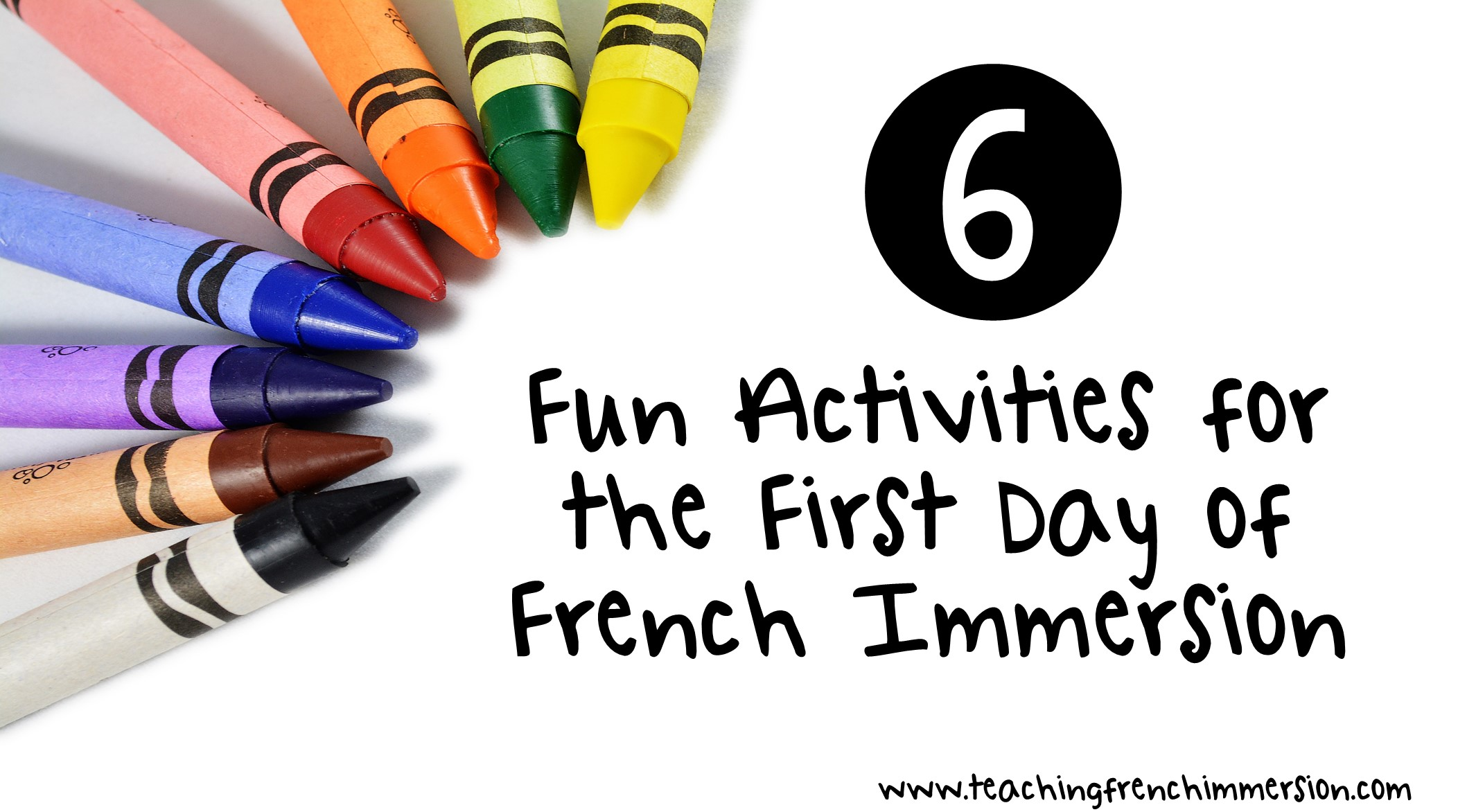 six fun first day of school activities for french immersion teaching french immersion ideas. Black Bedroom Furniture Sets. Home Design Ideas